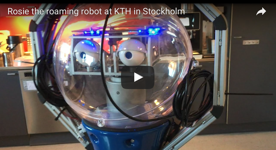 Rosie - mobile Robot at KTH University in Stockholm