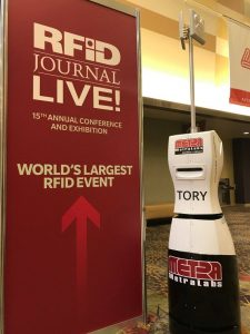 RFIDJournal with MetraLabs TORY inventory robot
