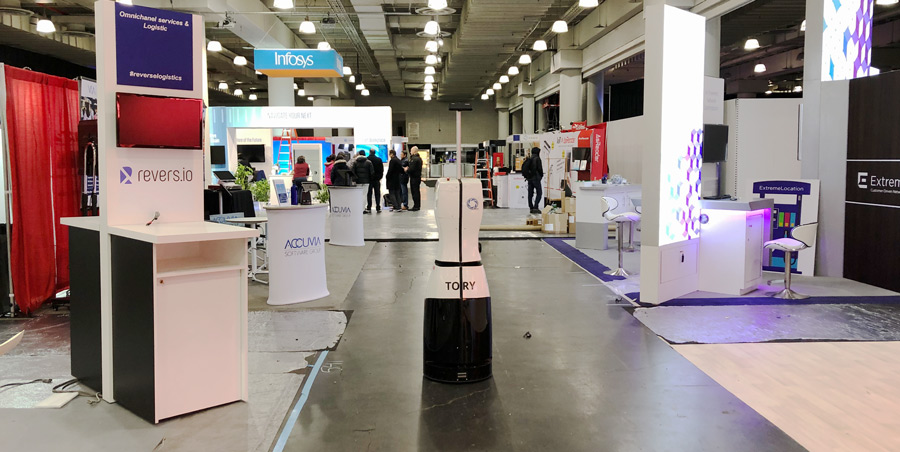 Inventory Robot TORY in New York - NAF 2019