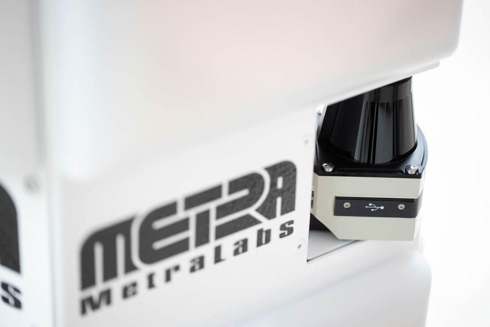 Lasersensor von Inventory Robot TORY von MetraLabs