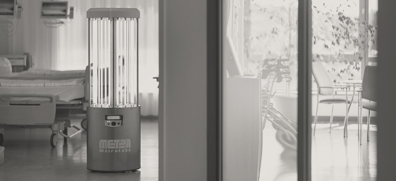Desinfektionsroboter - MetraLabs GmbH - STERYBOT