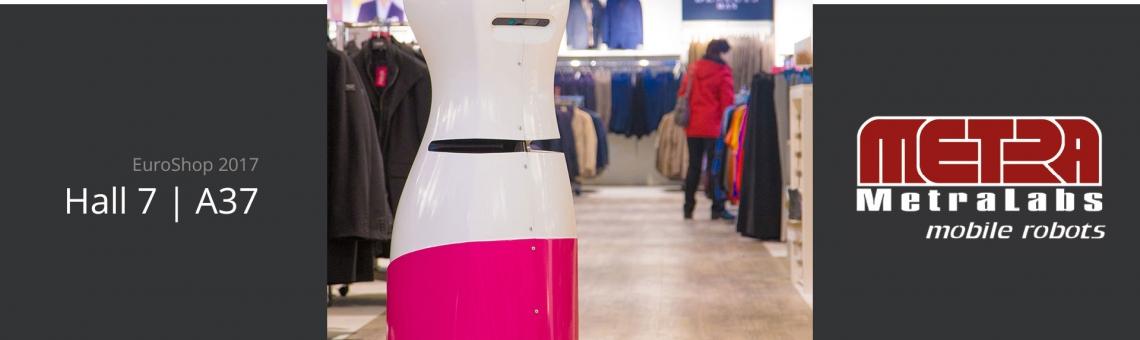 Zukunft des Retails: Roboter TORY auf der EuroShop 2017