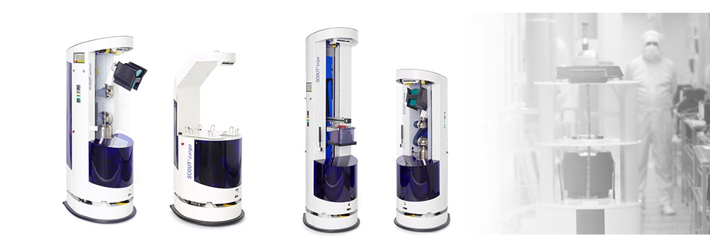 Produktbilder der SCOUT Roboterfamilie