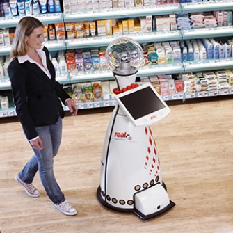 shopping robot - Real futurestore