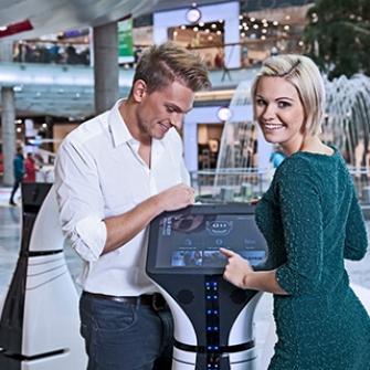 WeRobots shopping robot